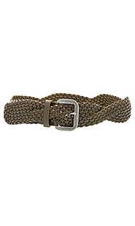 Twist braid belt - Linea Pelle