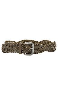Twist braid belt - Linea Pelle