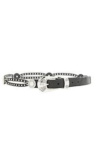 Western stud belt - Linea Pelle
