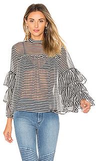 Блуза с рукавами-колокол - GM STUDIO