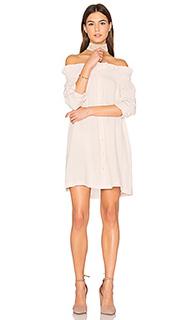 Платье со спущенными плечами business class - MINKPINK