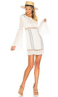 Платье с длинным рукавом luana - ale by alessandra