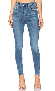 Облегающие джинсы с высокой посадкой roxanne - AGOLDE