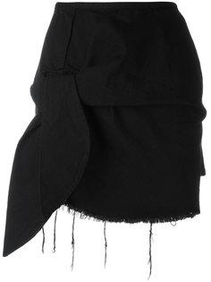 мини-юбка с декоративным узлом Marquesalmeida
