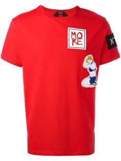 футболка с нашивками Nº21