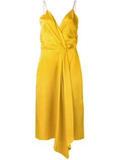 draped wrap dress Victoria Beckham