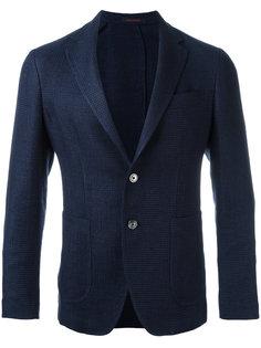 patterned blazer The Gigi