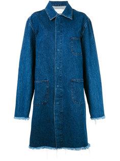 джинсовое пальто Mackinstosh  Marquesalmeida