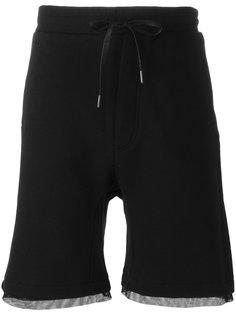 layered shorts D.Gnak