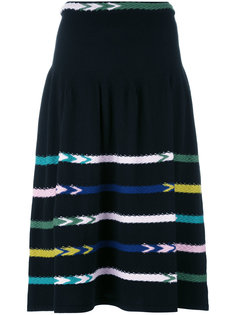 striped knit skirt  Barrie