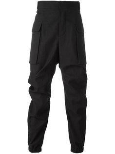 спортивные брюки с драпировкой Moohong