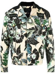 куртка с цветочным рисунком Christian Pellizzari