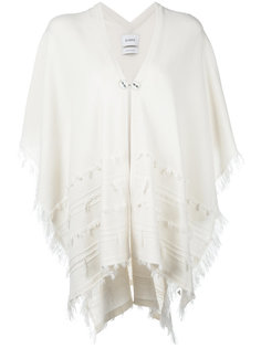 shortsleeved poncho Barrie