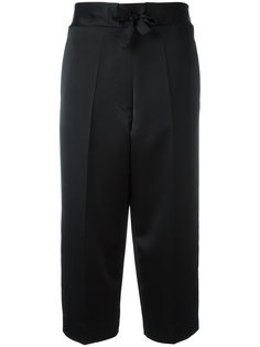 pyjama cropped trousers Victoria Beckham