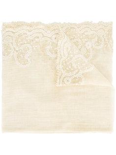 embroidered scarf Faliero Sarti