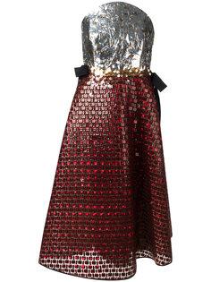платье с пайетками Delpozo