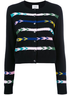 striped cardigan  Barrie