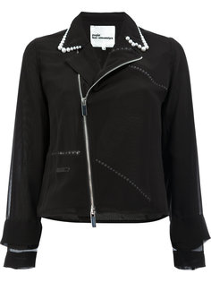 pearls collar jacket  Comme Des Garçons Noir Kei Ninomiya