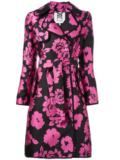 floral print trench coat  Milly