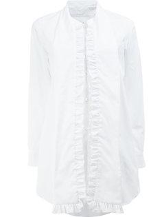 ruffled trim shirt  Comme Des Garçons