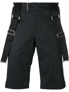 strap detail shorts  Les Hommes