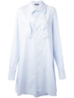 рубашка со складками Moohong