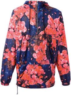 куртка-анорак с принтом роз MSGM