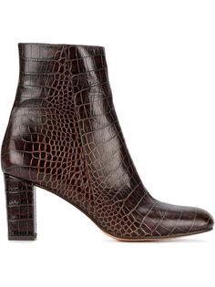 ботинки Agnes с эффектом кожи аллигатора Maryam Nassir Zadeh
