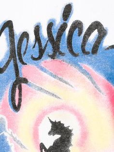 толстовка с принтом Jessica Palm Angels