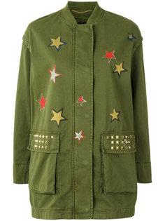 куртка в военном стиле со звездами Bazar Deluxe
