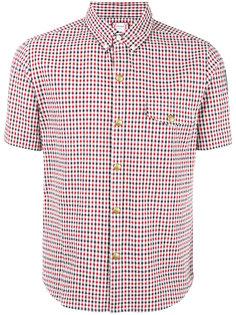 рубашка с короткими рукавами в клетку Moncler Gamme Bleu