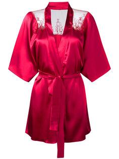 lace trim kimono  Fleur Of England