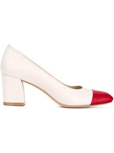 туфли с контрастным носком Maryam Nassir Zadeh