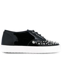 кроссовки Karen с заклепками Giuseppe Zanotti Design