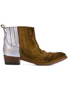 ботинки по щиколотку в стиле колор-блок  Golden Goose Deluxe Brand