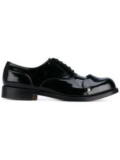 туфли Оксфорды с контрастным носком Comme Des Garçons Homme Plus