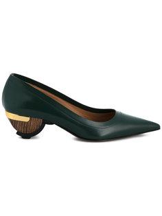 туфли на скульптурных каблуках Marni