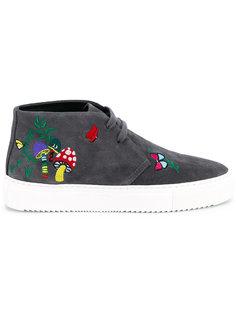 ботинки на шнуровке с нашивками Mira Mikati