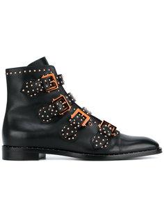 высокие ботинки с отделкой заклепками Givenchy