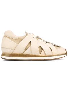 кроссовки с перекрестными деталями Hender Scheme