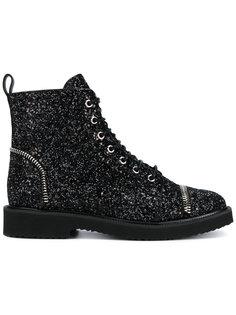 ботинки на шнуровке Roxette Giuseppe Zanotti Design