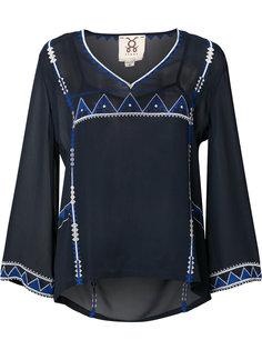 декорированная прозрачная блузка  Figue