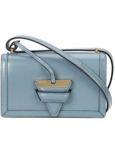сумка на плечо с треугольной застежкой Loewe