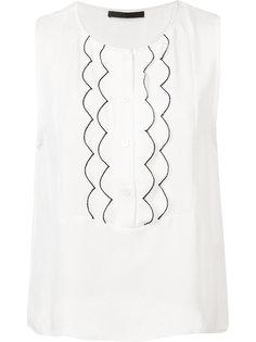 блузка с фестонами Jenni Kayne
