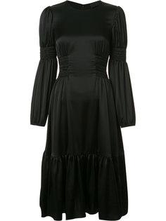 платье с присборенной отделкой Co