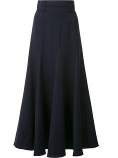 юбка с завышенной талией и оборками Gabriela Hearst