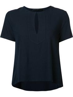 расклешенная блузка с узким вырезом Jenni Kayne