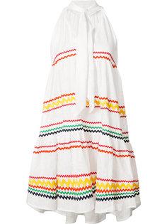 платье в полоску Lisa Marie Fernandez