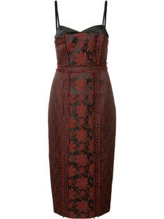жаккардовое платье миди Cinq A Sept