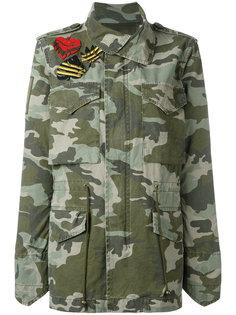 куртка в стиле милитари с камуфляжным принтом Mr & Mrs Italy